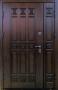 Двустворчатая дверь Славянский стиль Спарта