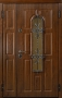 Двустворчатая дверь Стальная линия Тауэр 100У