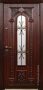 Дверь Стальная линия Лацио Махагон 100У