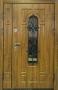 Двустворчатая дверь Славянский стиль Усадьба