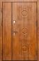 Двустворчатая дверь Славянский стиль Пальмиро