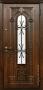 Дверь Стальная линия Лацио Темный дуб 100У